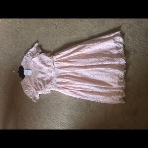 New with tags ASOS pink lace dress!